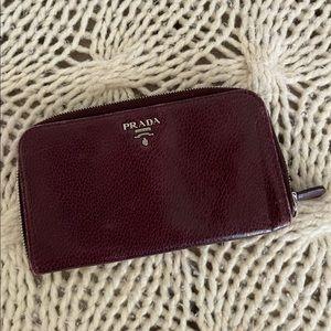 Prada vintage leather wallet
